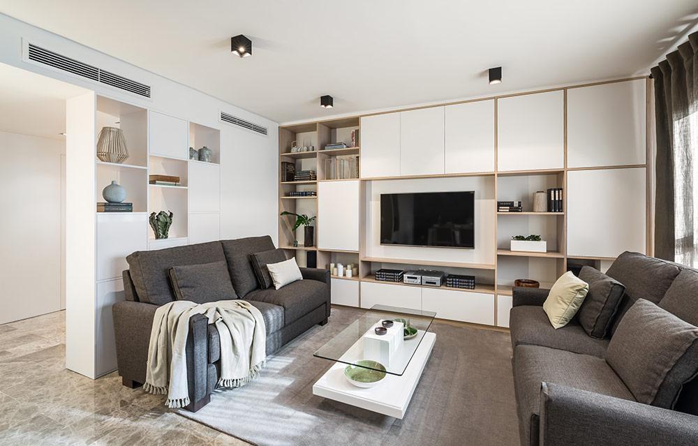 Buenas ideas para la decoraci n de salones modernos - Lamparas para salones modernos ...