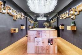 Wine Store Mecanismo Jorge Juan Madrid Javier Bravo fotografía arquitectura