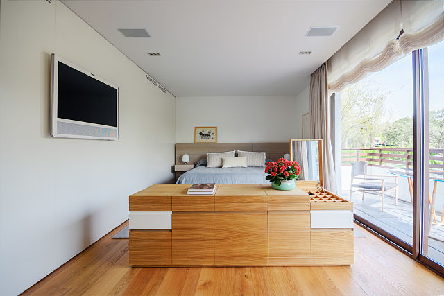 diseño y mobiliario a medida para dormitorio principal