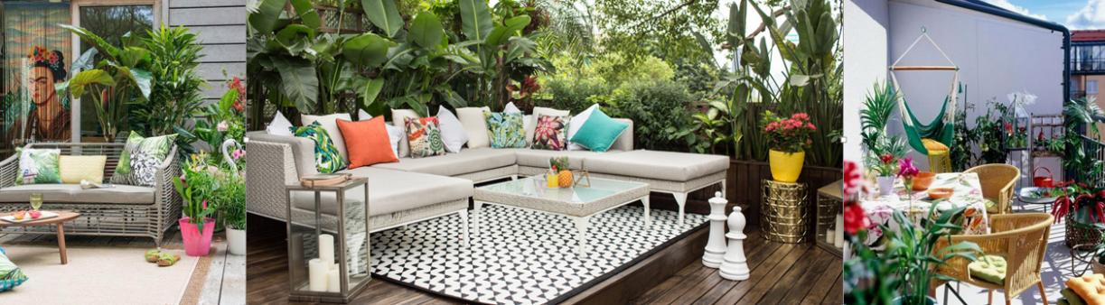 con la llegada de la primavera empezamos a pensar en la decoracin de jardines y terrazas para hacer vida en el exterior en la decoracin exterior hay que