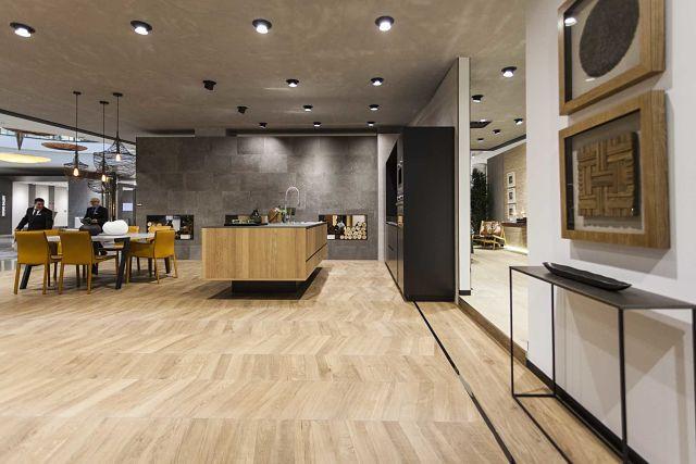 Porcelanosa experience xxiv muestra internacional de for Revestimiento cocina