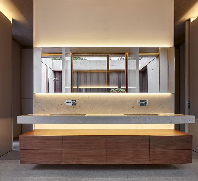 Baños en casas de diseño