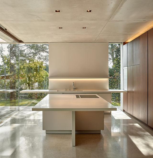 Cocina de diseño en casa la Pinada