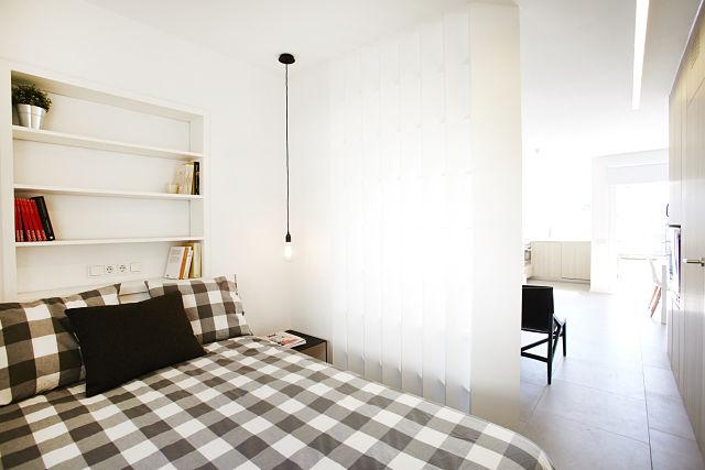 Dormitorio de vivienda en Sitges