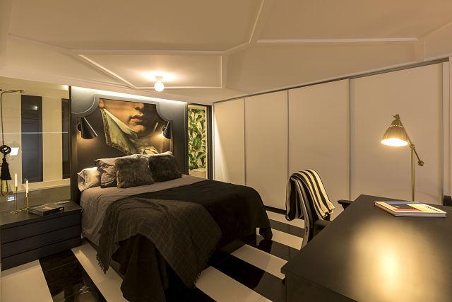 dormitorio de diseño en lord loft