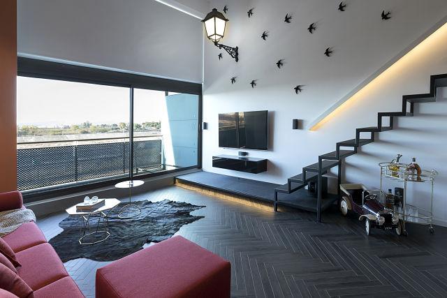 Un loft de diseño en Valencia