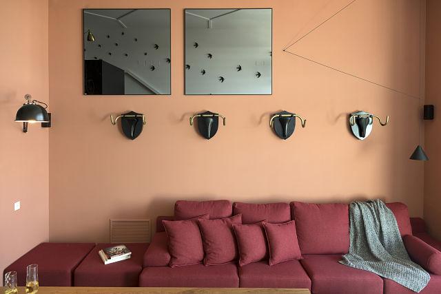 Sofá de diseño en el Lord Loft