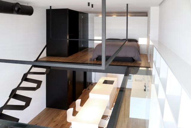 Antes caja vac a ahora apartamento loft for Caja murcia valencia oficinas