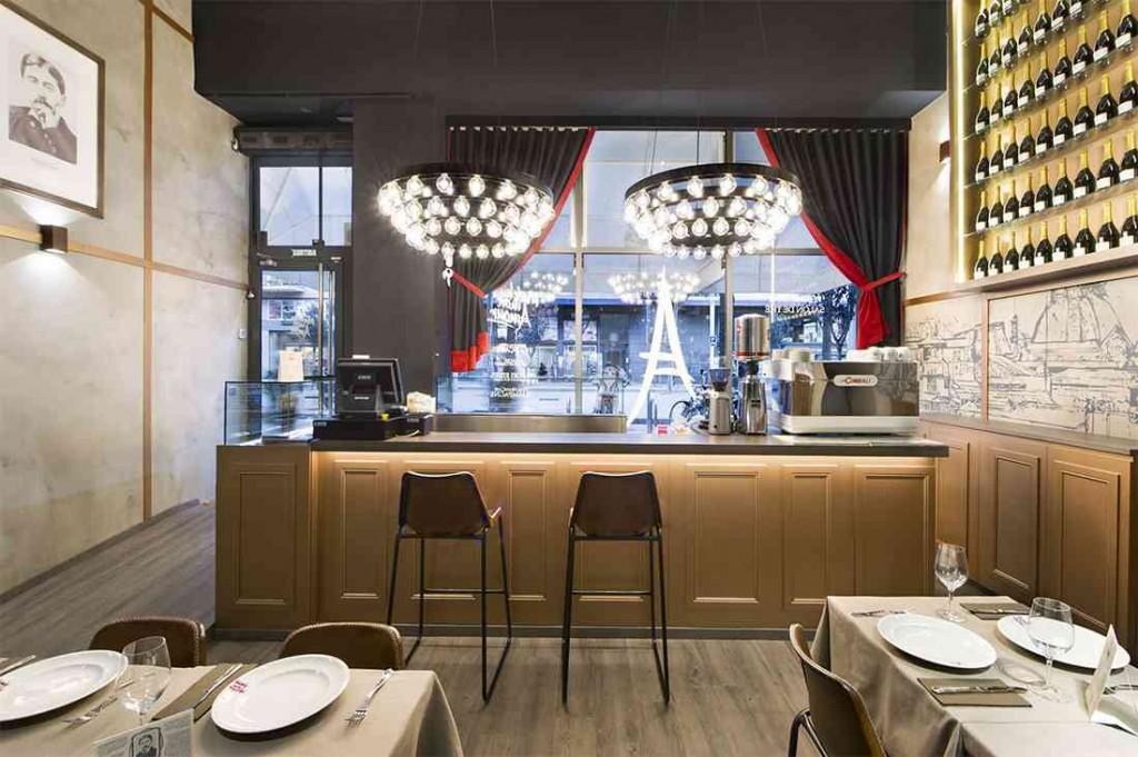 Interiorismo decoraci n y mobiliario para cafeter a chic for Mobiliario barcelona