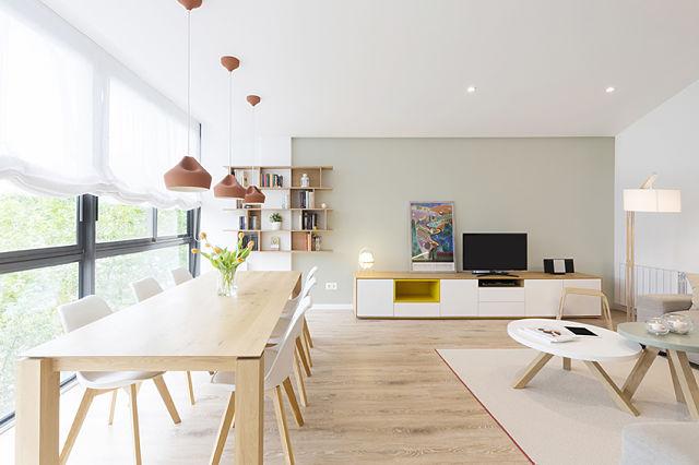C mo reformar y decorar una casa para cuatro - Interiorismo nordico ...