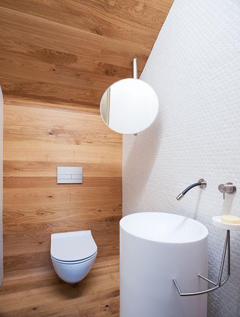 diseño y mobiliario a medida en baño de madera