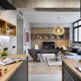 """Diseño de interior de vivienda """"Poblenou en 3 actos"""""""