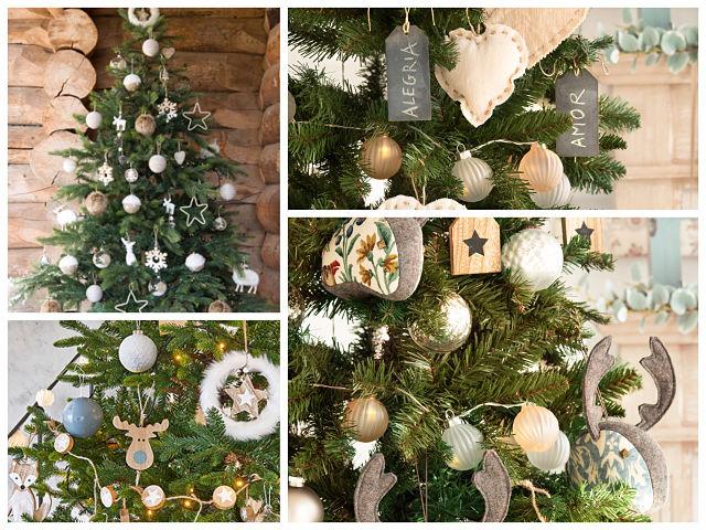 Ideas para la decoraci n del rbol de navidad - Decoraciones de arboles de navidad ...