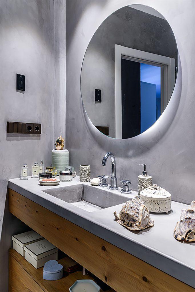 baño en reforma de un piso antiguo en Madrid