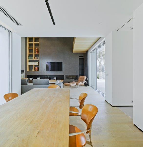Comedor de diseño minimalista y contemporáneo