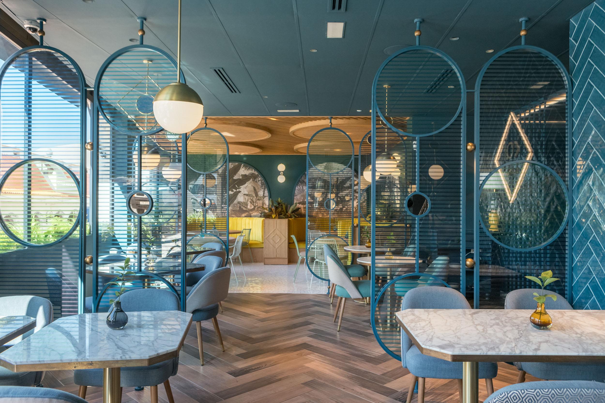 Diseño interior del restaurante Kai La Caleta