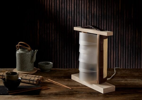 Lampara artesanal de mesa Tokyo