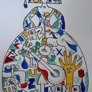 Menina en Paz David Vaamonde