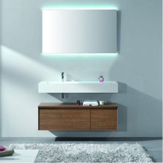 Mueble de baño luxor II, casco lacado