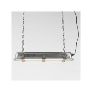 lámpara industrial GTA plata L
