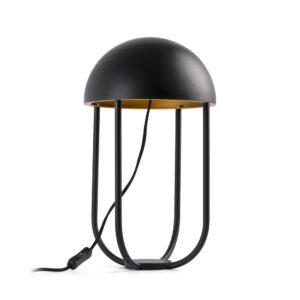 Lámpara de sobremesa Jellyfish negro y dorado