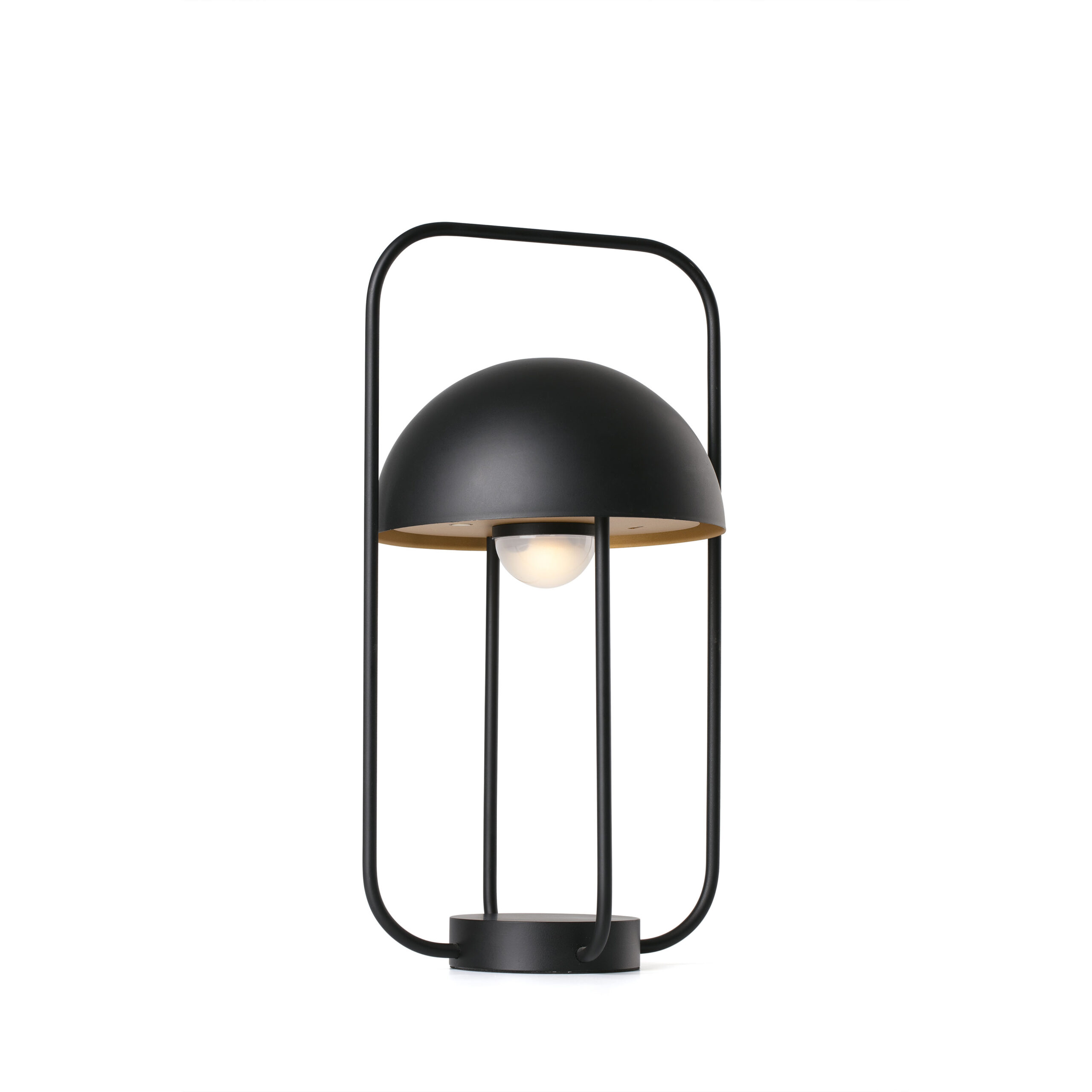 JELLYFISH LED Lámpara sobremesa negro y oro – Faro