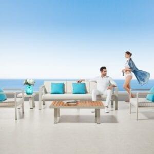 Conjunto muebles para jardín Nofi