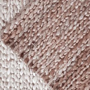 Alfombra en yute orgánico hecha a mano por kaymanta, diseño mountain